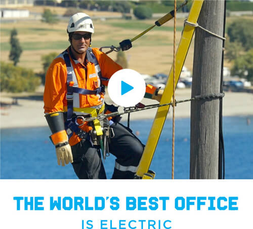 The World's Best Office is electric